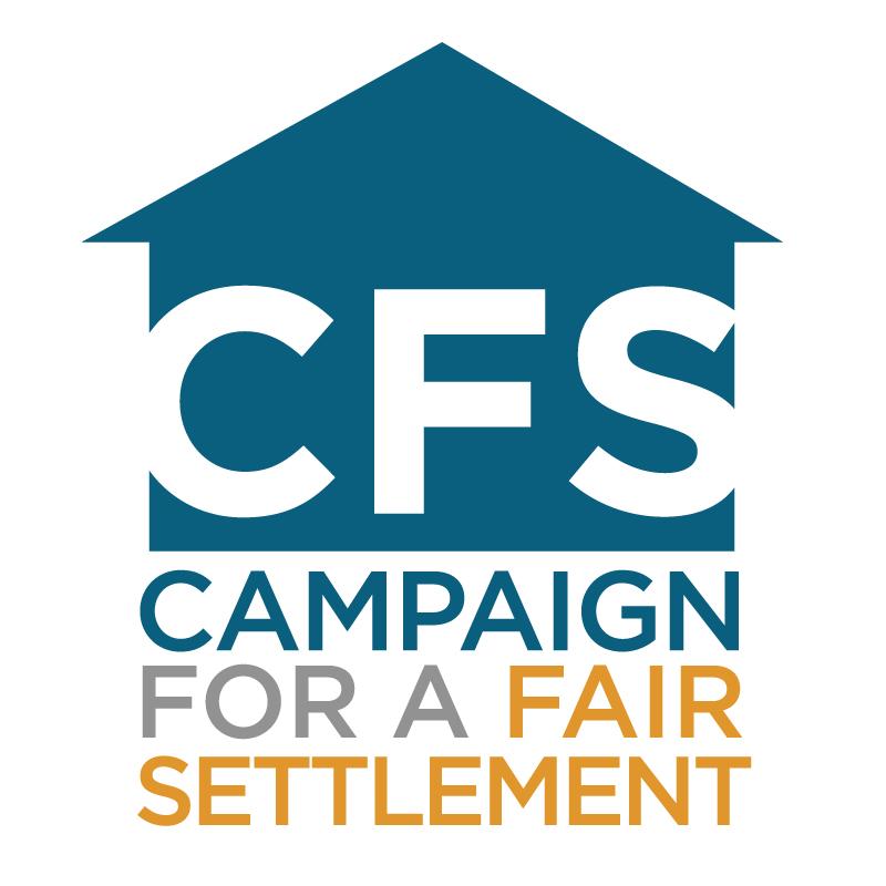 Campaign for a Fair Settlement Logo