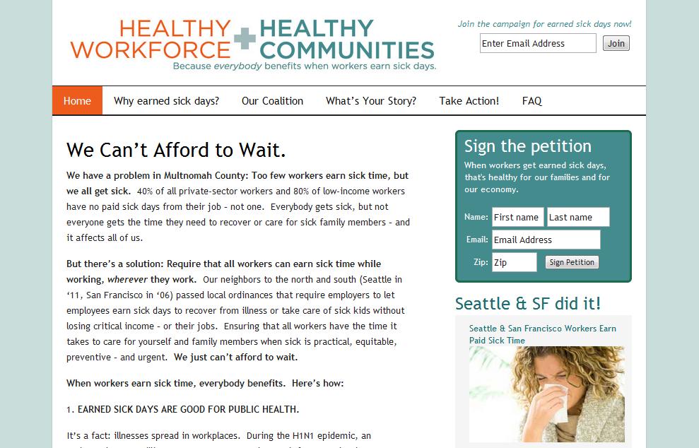 Healthy Workforce, Healthy Communities -  everybodybenefitsoregon.com